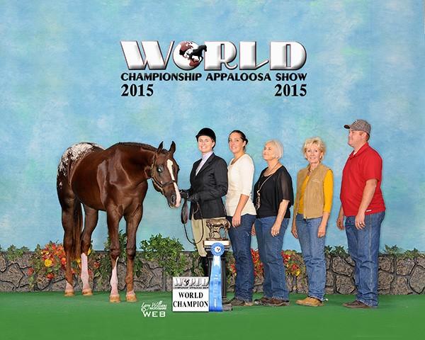 Biggest Show N Town WC  Lungeline Res. World Champion HIH