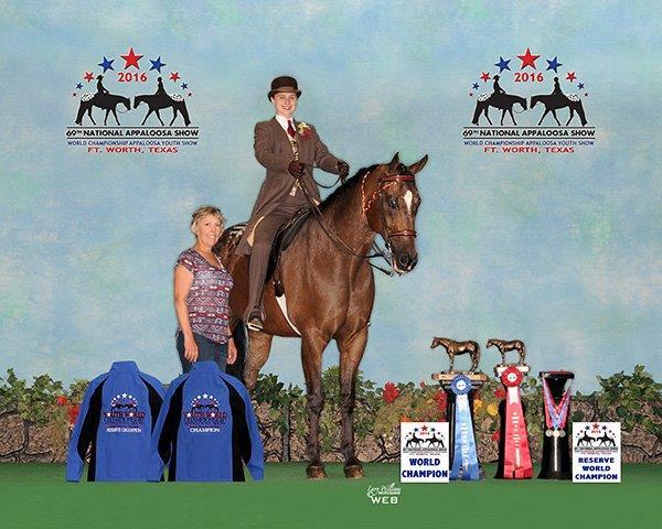 Gracie Ackerson Saddle Seat